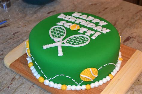 pin tennis birthday cake crafts ideas etc - Tennis Themed Cake Decorations