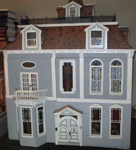 customized doll houses beautiful custom built fully furnished electrified dollhouse