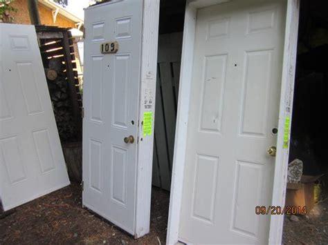 32x80 Exterior Door 32x80 Exterior Steel Door Slab Ideal For Shop Garage And Shad South Nanaimo Nanaimo