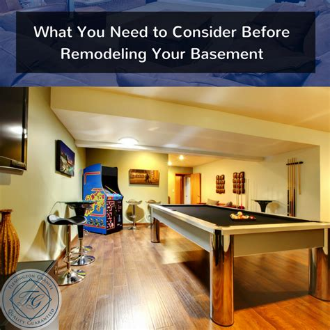 Basement Builds What You Need what you need to consider before remodeling your basement
