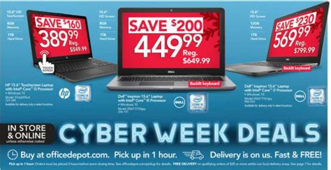 cyber monday office desk deals gaming desktops at office depot officemax autos post