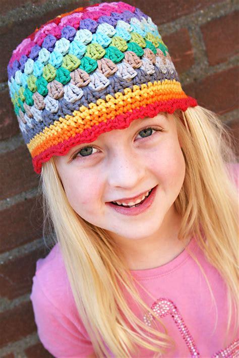 crochet pattern cute hat ridiculously cute crochet hat patterns for girls andrea