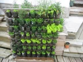Using Old Doors In The Garden Build A Vertical Garden From Recycled Soda Bottles Diy