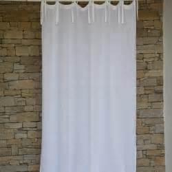 rideau gaze de lav 233 blanc maison d 233 t 233