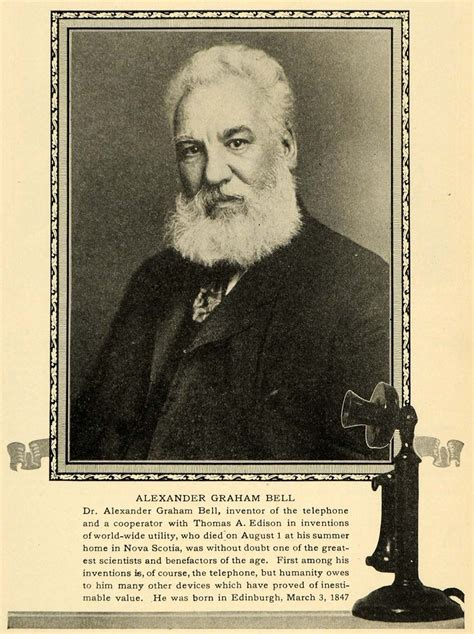 facts about alexander graham bell s death 1922 print alexander graham bell phone inventor death