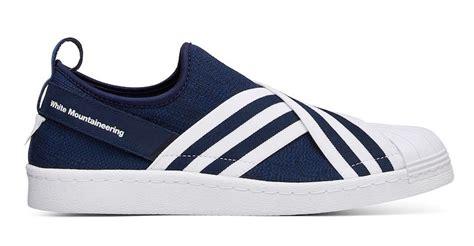 Adidas Superstar Slip On Olive Green White Montaineering white mountaineering adidas superstar slip on sneaker bar detroit