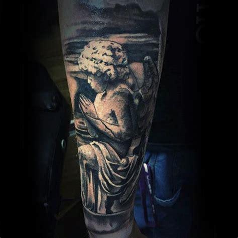 tattoo religious angel 100 religious tattoos for men sacred design ideas