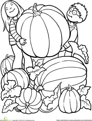 big pumpkin coloring page 8 best images of free fall printables kindergarten