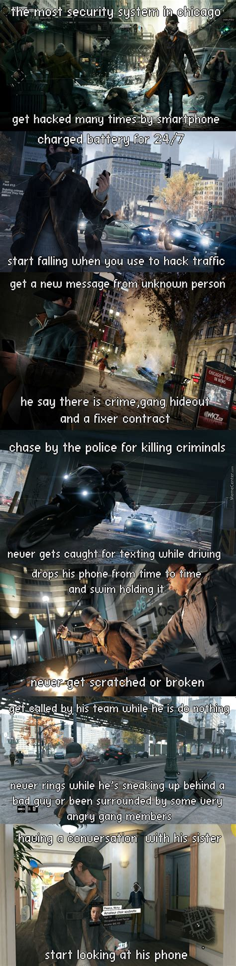 Watch Dogs Meme - watch dogs logic by fares17449 meme center