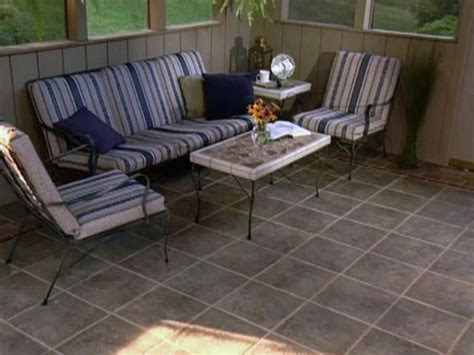 How To Determine Square Footage Of A House how to tile a porch how tos diy