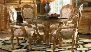 Michael Amini Dining Room Furniture Quot Michael Amini Quot Latte 5 Pc Dining Room Set Trevi Collectio