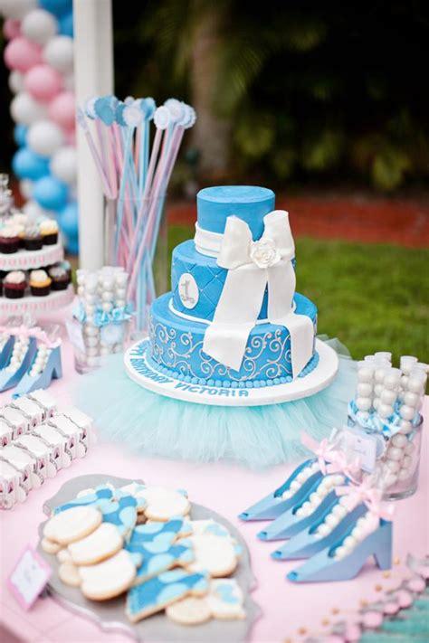 cinderella princess themed birthday via kara s