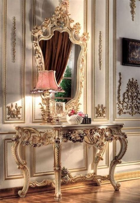 Fancy Home Decor | victorian vanity old fashioned beautiful fancy royal