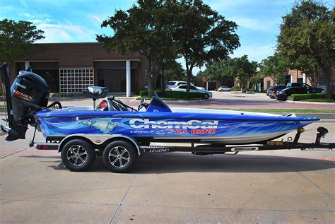 bass cat boat wrap legend alpha 211 boat wrap car wrap city
