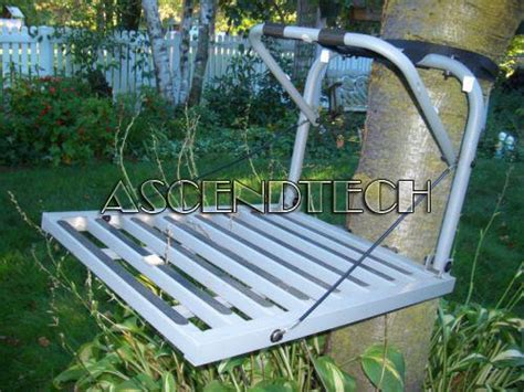 hang on treestand replacement seat the cheap seat loggy bayou aluminum hang on tree stand