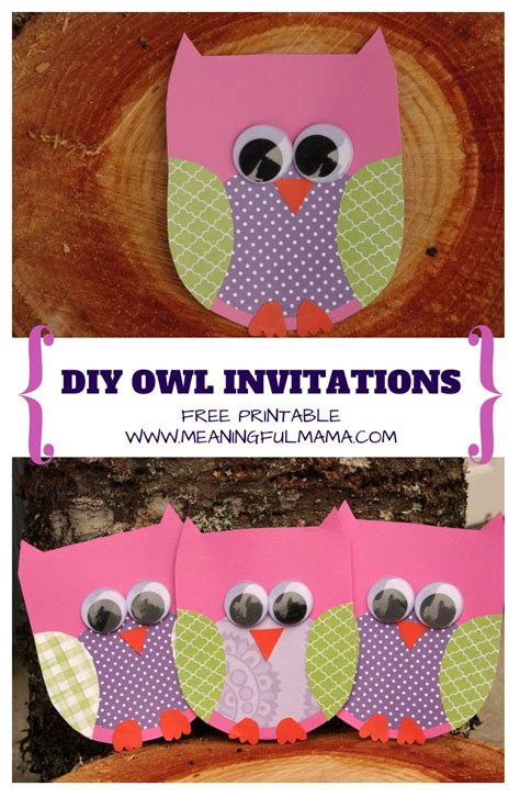 owl invitation template best 25 owl invitations ideas on owl birthday