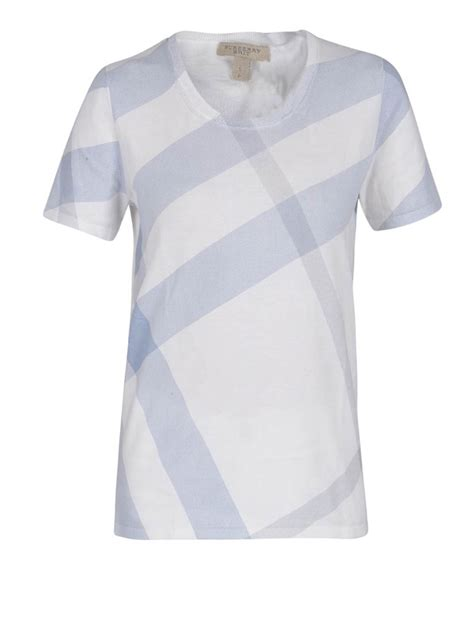 Shirt Print Check Print T Shirt By Burberry T Shirts Ikrix
