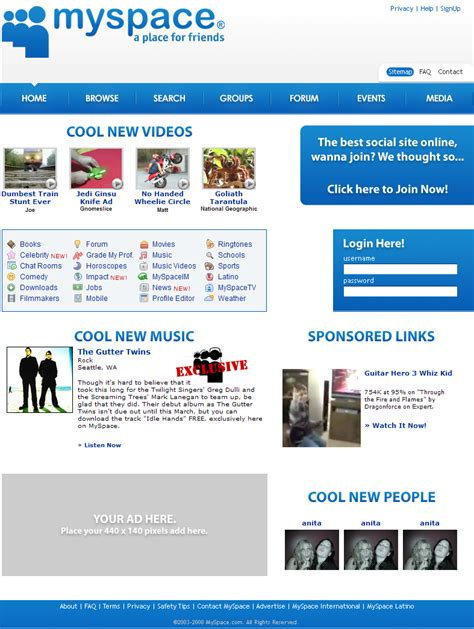 Myspace Pages Of And by Myspace Redone Web Template 6 By Redvo On Deviantart