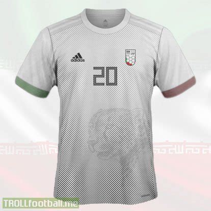 T Shirt Trophy World Cup 01 iran 1st kit world cup 2018 concept kit troll football