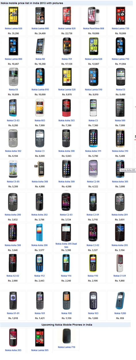 nokia all mobile price list nokia mobile phone price list search results for