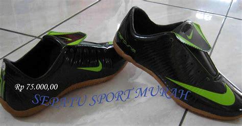 Sepatu Bola Nike Yg Murah sepatu sport murah sepatu futsal nike mercurial hitam hijau