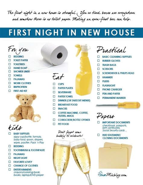 list of things to buy when moving into a new house best 25 first home checklist ideas on pinterest new