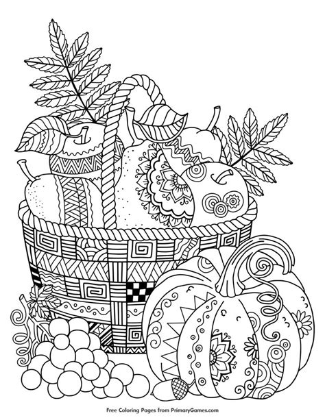 25 best fall coloring pages ideas on pinterest