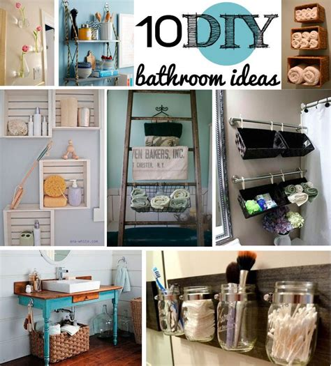 10 diy bathroom decor ideas so much bathroom
