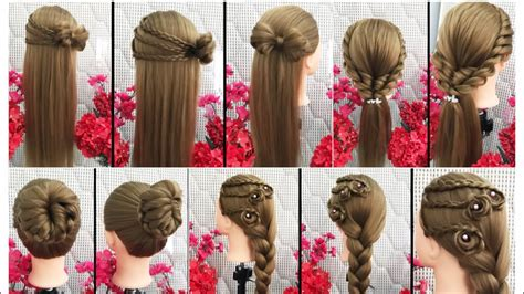 cool hairstyles for tutorial cool hairstyles for hair tutorial compilation 2018