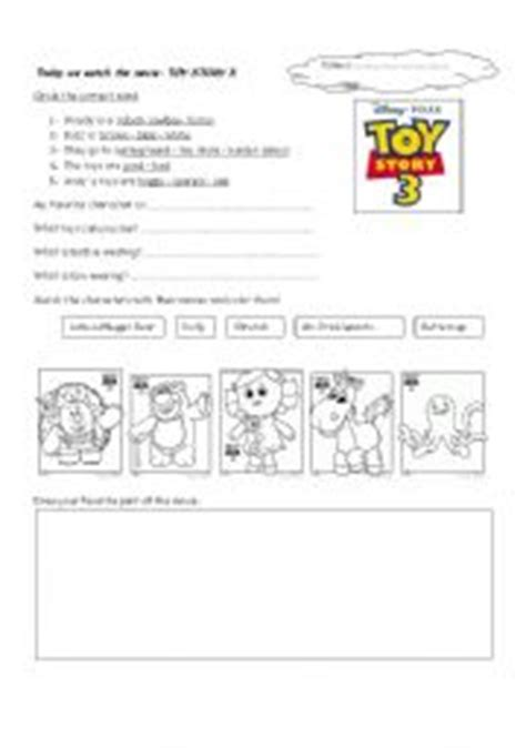toy story printable activity sheets english exercises toy story 1