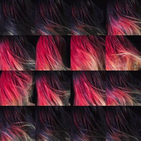 change hair color color changing hair dye sets london fashion week ablaze