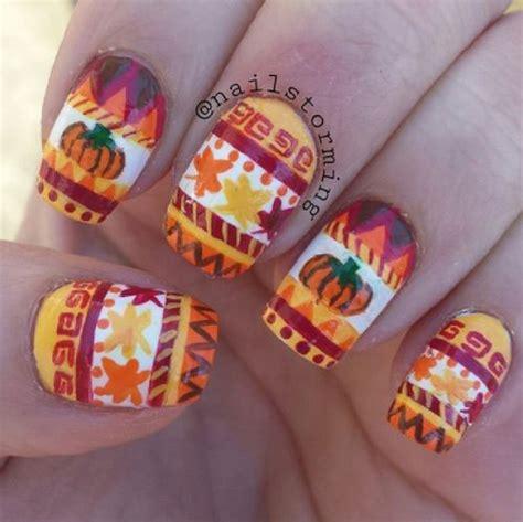 Nail Designs Pumpkin
