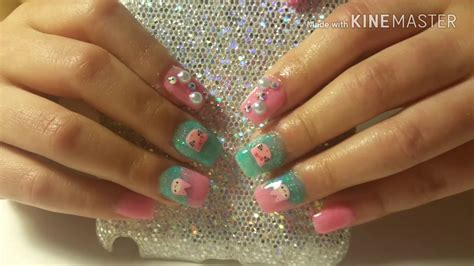 fotos de uñas acrilicas gratis u 241 as acrilicas kawaii para ni 241 as kawaii acrylic nails
