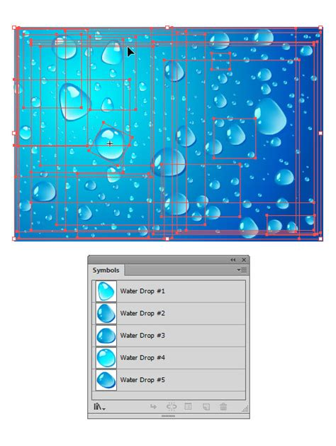 illustrator tutorial water drop illustrator special effects water drops background