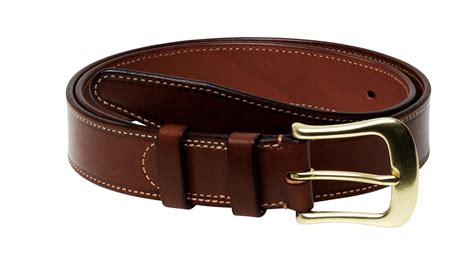 Handmade Belts - b 246 le handmade leather belt casstrom uk