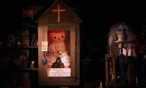 annabelle doll in museum take a tour of the warren s real occult museum
