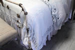 bloom cottage linen ruffle bedding soft and organic