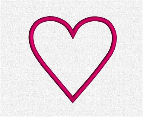 heart pattern for applique heart appliqu 233 embroidery machine pattern design download