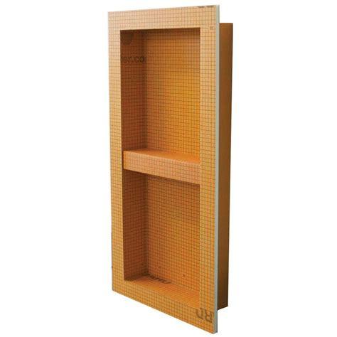 schluter kerdi board sn 12 in x 28 in shower niche