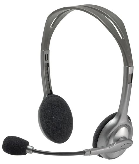 Logitech Stereo Headset H110 logitech h110 stereo headset rs 420 mrp 845 computers deals