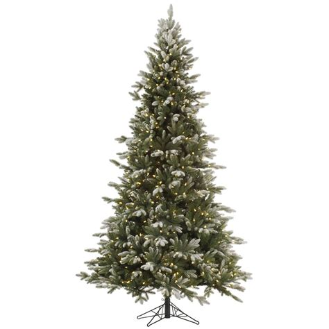 12 foot frosted balsam fir christmas tree italian led