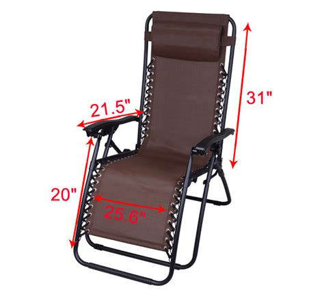 Zero Gravity Patio Chair by Outsunny Zero Gravity Lounge Chair Folding Recliner Patio