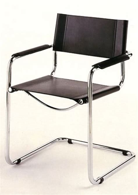 Cantilever Chair by Mart Stam Cantilever Chair With Armrests Bauhaus Italy