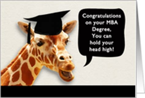 Mba Graduation Cards by Master Of Business Admin Congratulations On Graduation