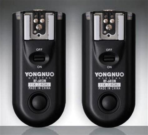 Yongnuo Wireless Flash Trigger diy modifying the yongnuo rf603n wireless remote flash trigger nikon rumors