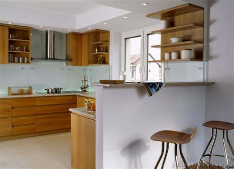 pictures  kitchens modern light wood kitchen