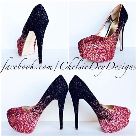 High Heels Glitter Maroon black and pink platform heels www pixshark images galleries with a bite