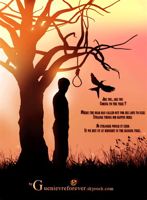 the hanging tree the walkbynight the hanging tree version with peeta katniss
