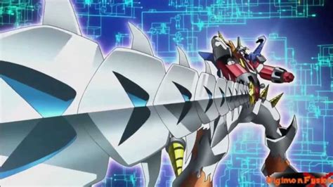 Bandai Digimon Fusion Shoutmon X4 digimon xros wars shoutmon x4s www pixshark images
