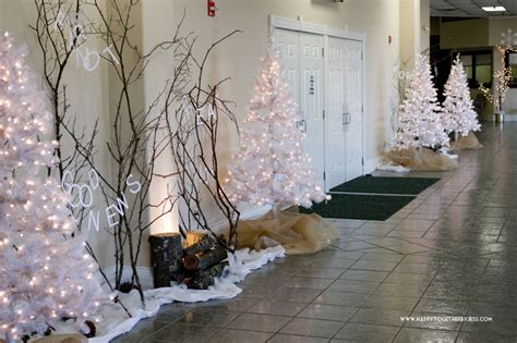 decorating church foyer christmas images